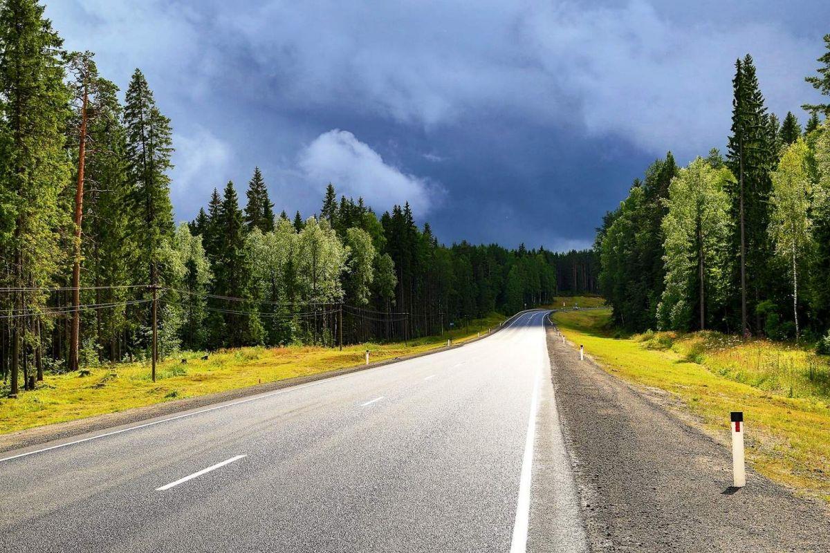 Русский Север перед дождём