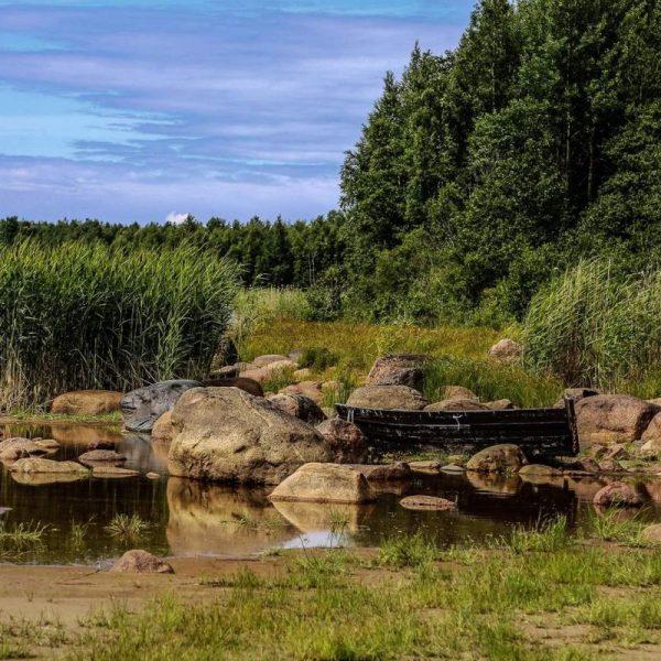 русский север у воды