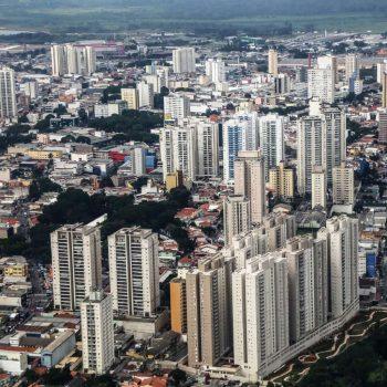 Бразилия, вид на город Сан-Паулу