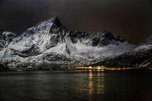 Лунная ночь во Фьордах