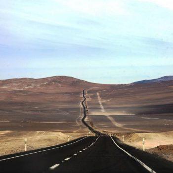 Дорога, Чили-Атакама