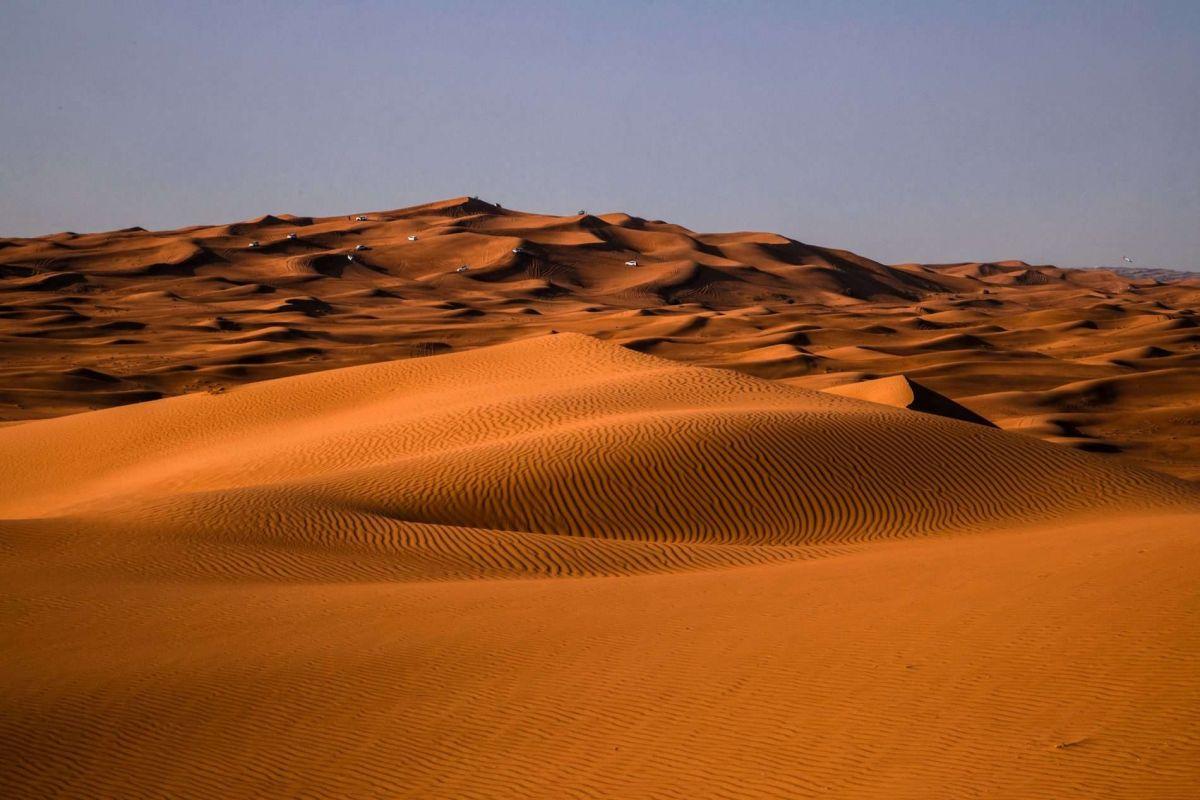 Намибия, пески Аль-Хали
