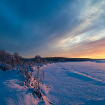 Утро в Финляндии