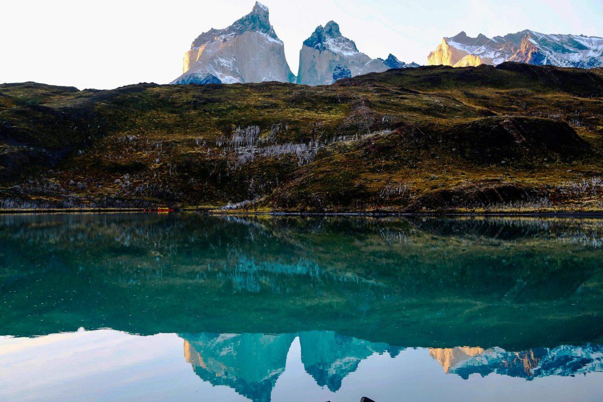 Чили, озеро