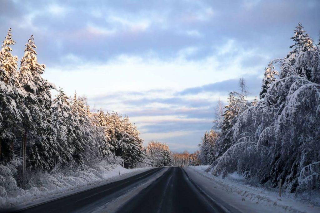 дорога в Скандинавию