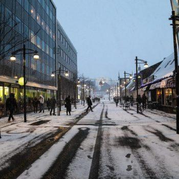 Зимние улицы Рейкьявика