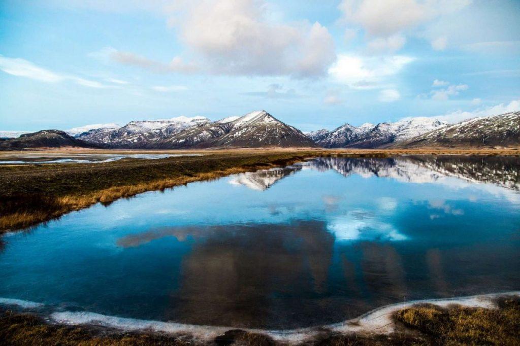 исландия зимой