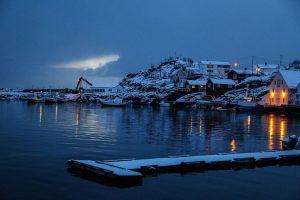 Утро на островах, Норвегия