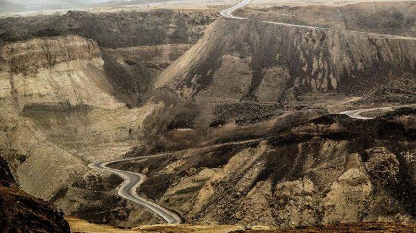 Дорога в Иордании