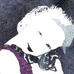 Котёнок, обожженные крылья ангела, Елена Павличенко