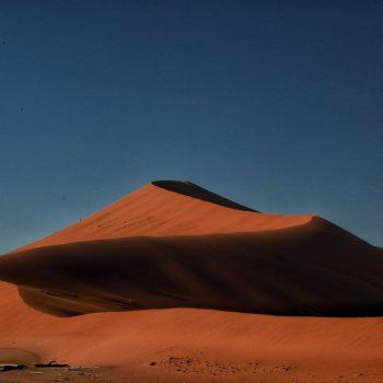 Пустыня Намибии, песчаная гора
