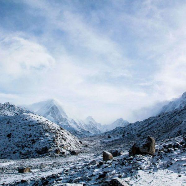Гималаи. Непал. Снега.