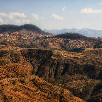 Холмы Боливии