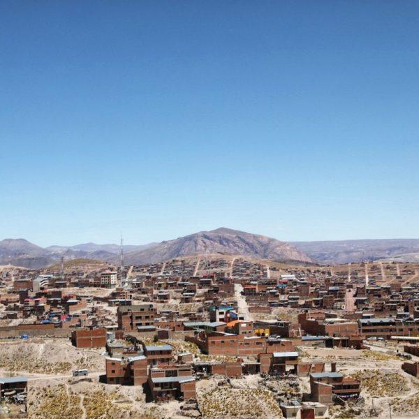 Вид на Потоси, Боливия