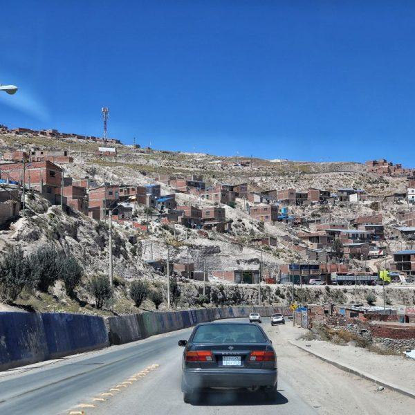 Дорога в Потоси, Боливия