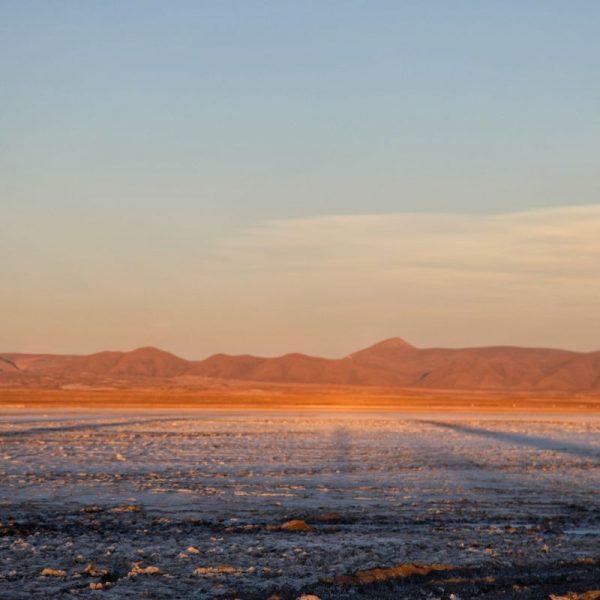 высохшее доисторическое озеро