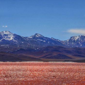 Красная долина Колорадо Боливия