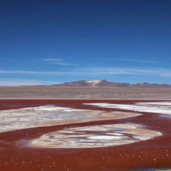 Вид на долину Колорадо, Боливия