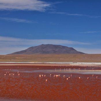 Виды долины Колорадо, Боливия