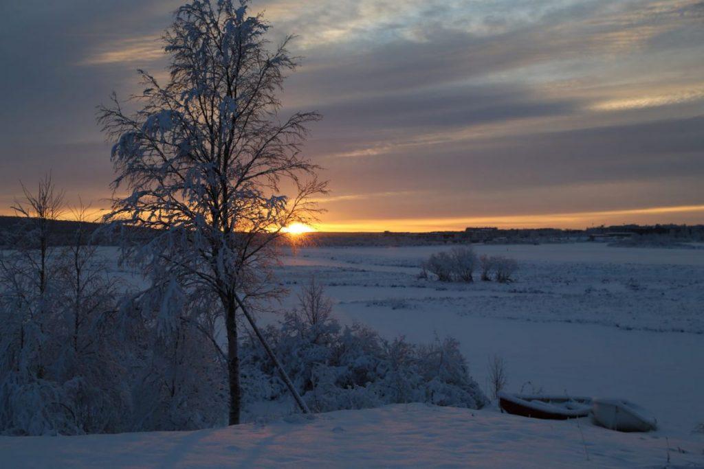 Зима, Рованиеми