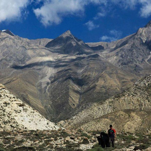 Гималаи. Мустанг. Горы