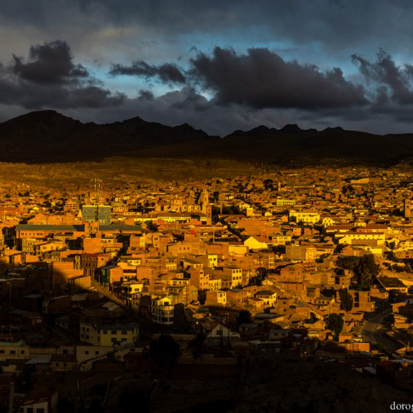 Закат в Потоси, Боливия