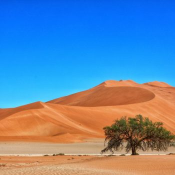 Пустыня Намиб и рыжие пески