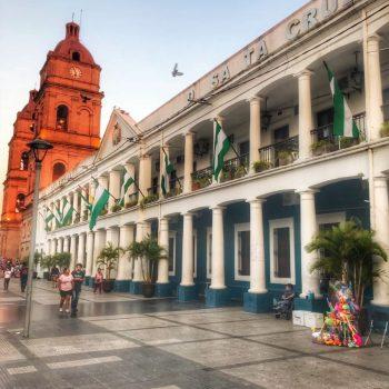 Центр города Санта Крус Де Ла Сьерра, Боливия