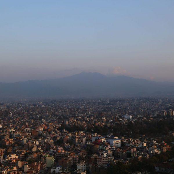 Вид на Катманду, Непал