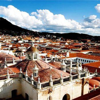 Сукре с рыжими крышами, Боливия