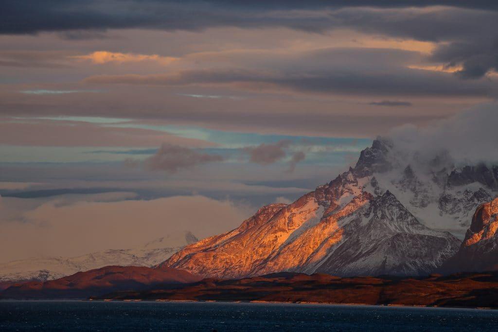Фото гор в Чили