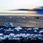 Береговой лёд, исландия