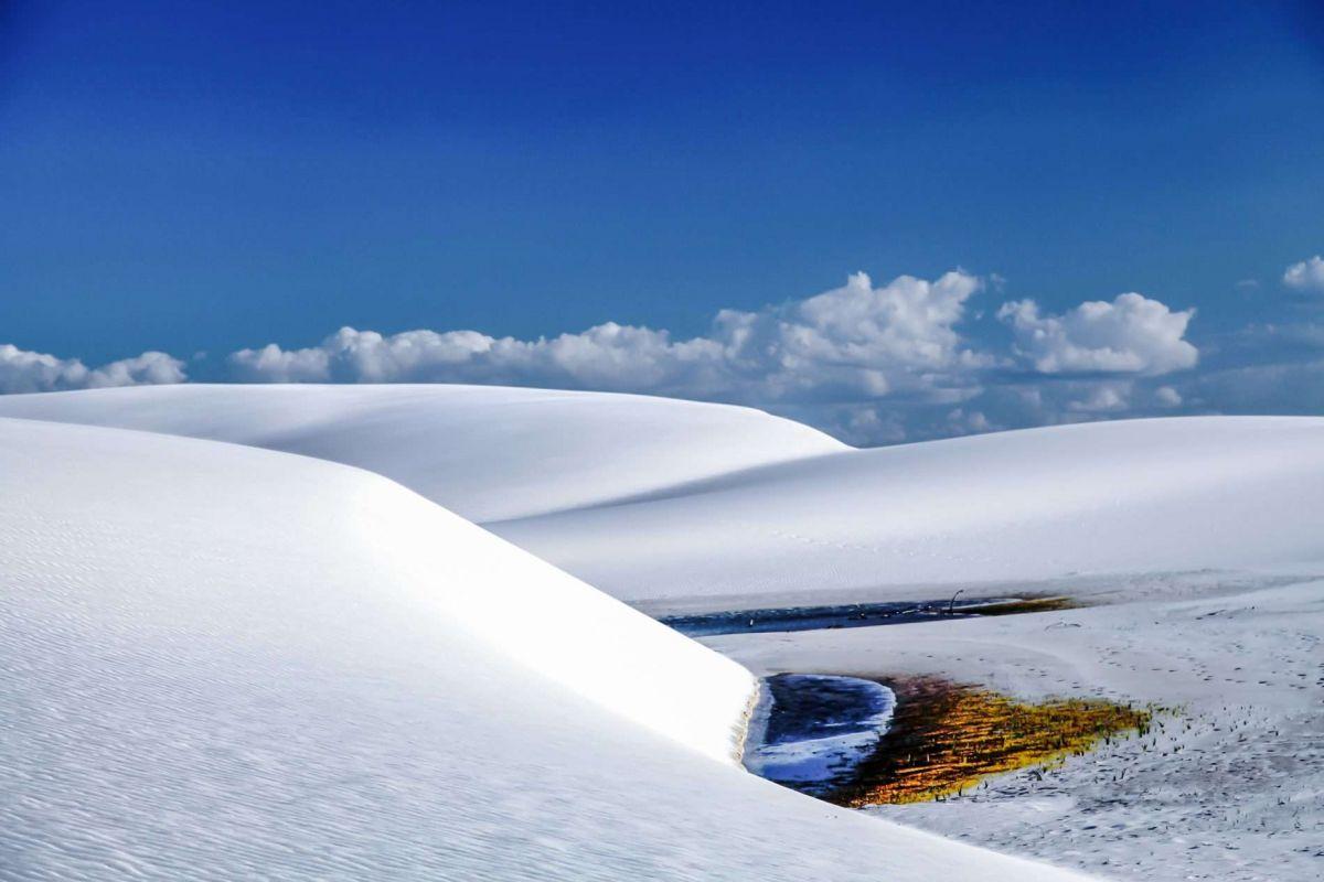 Бразилия, вид на пустыню