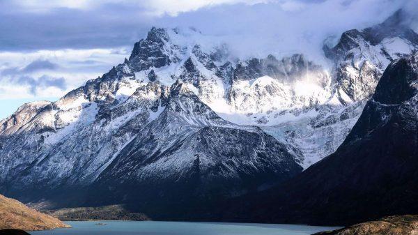 Анды, Чили, снежные горы