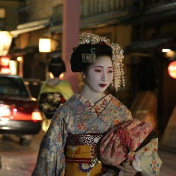гейша, япония
