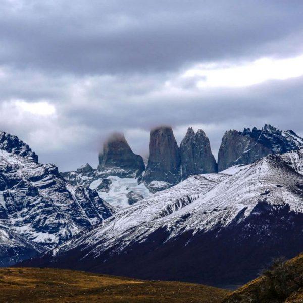 Анды, Чили, снег на вершинах