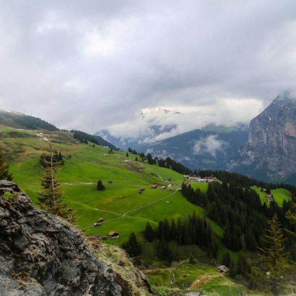Альпы, Швейцария, горный пейзаж