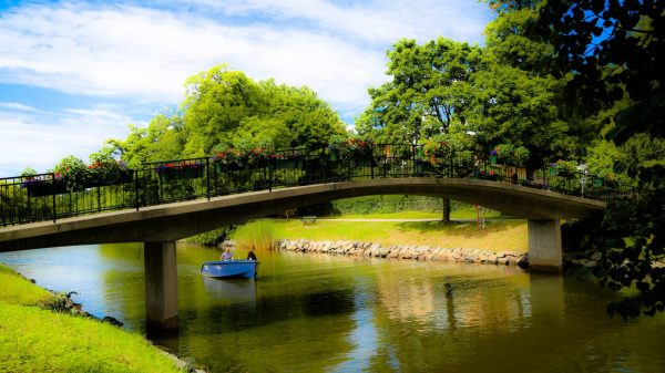 Парк в Швеции