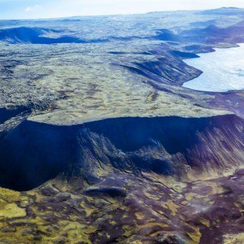 Вид на Исландию