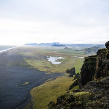 Чёрный пляж, Исландия