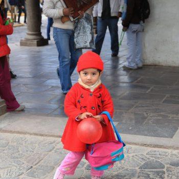 Девочка в Перу