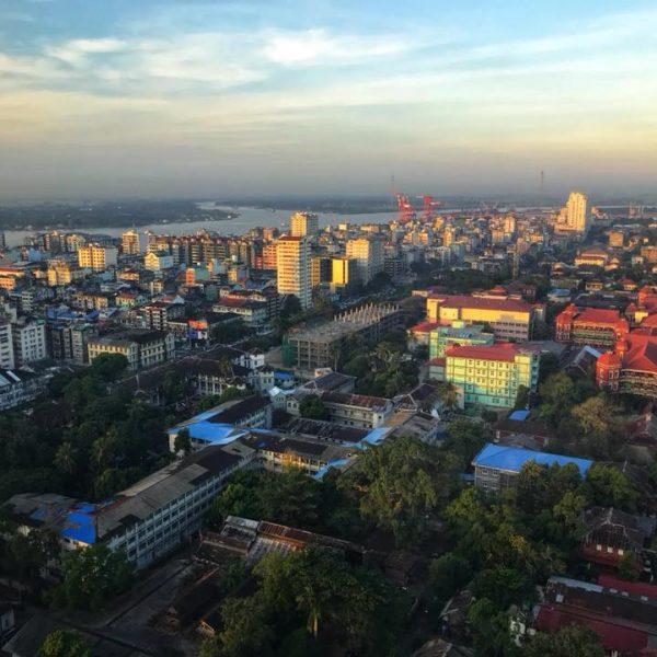 Янгон, Мьянма, Бирма