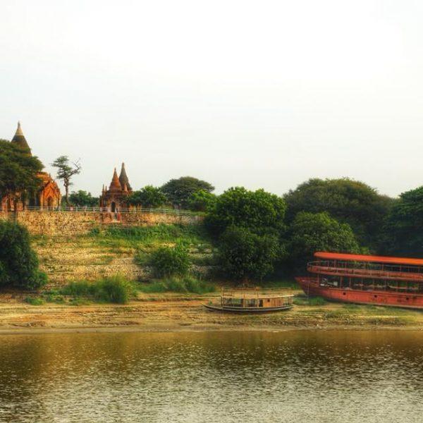 Вид с корабля, Бирма