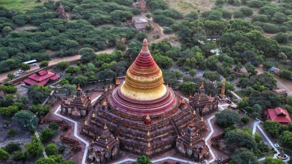 Мьянма, Баган, пагода