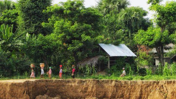 местные жители Багана