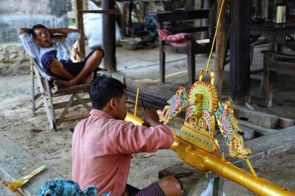 Ремесленник в Бирме