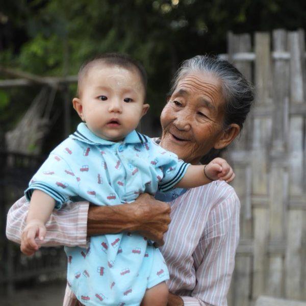 Местные жители, Мьянма