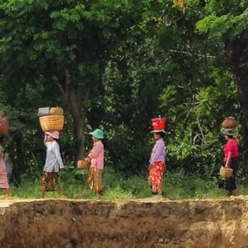 местные жители, бирма