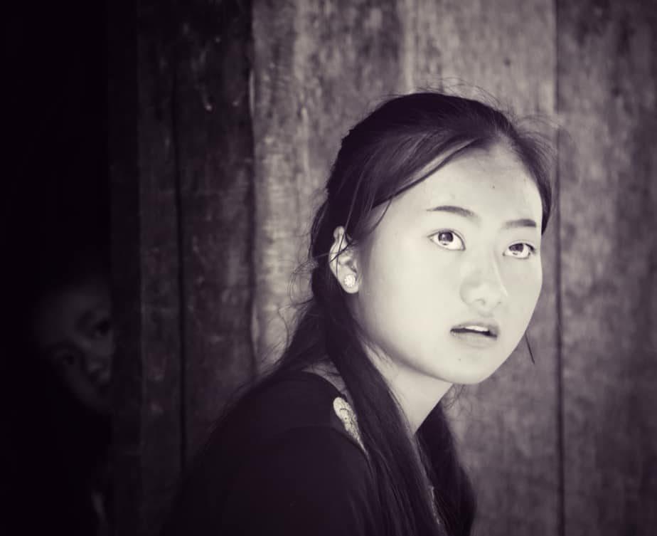 Лаосская девушка