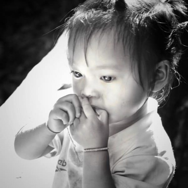 Лаосская девочка